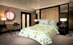 "Microfiber bed linen "" Spring"""